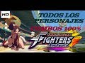 KOF-A 2012 100% Death Combos All Characters️ by K' Will 2018