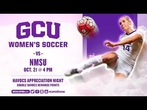 Women's Soccer vs New Mexico State Oct 21st, 2016