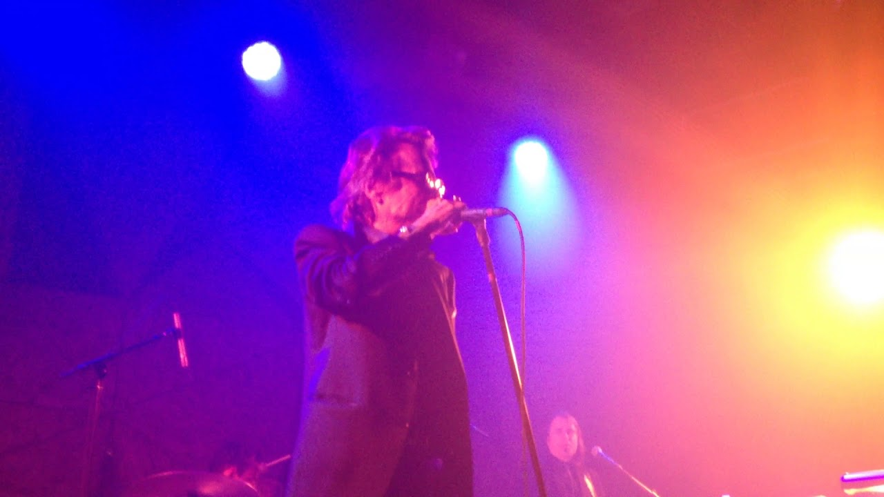 """Download David Johansen singing """"Personality Crisis"""" live at Elsewhere in Brooklyn, NY on 1/20/18."""