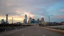 Dallas City Center at Night