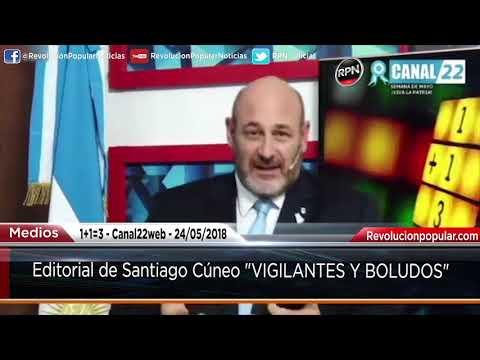 1+1=3 Editorial de Santiago Cúneo 24/05/2018