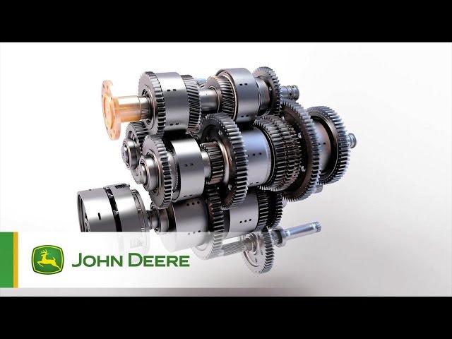 Przekładnia e23 w ciągnikach John Deere serii 7R i 8R