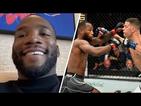Leon Edwards on His Fight With Nate Diaz and What's Next