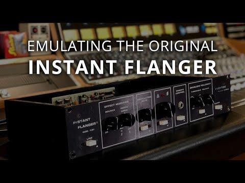 Instant Flanger Mk II Authentic Emulation of the Original Studio Hardware