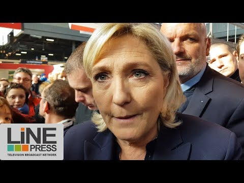 Salon de l'Agriculture 2018 - Marine Le Pen / Paris - France 28 février 2018