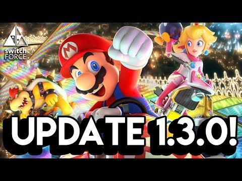 Mario Kart 8 Deluxe Update 1.3.0 Is Here!!