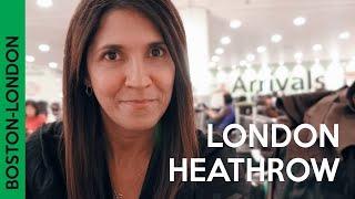 Flight to London Heathrow in Delta comfort plus international | Boston to London Delta experience