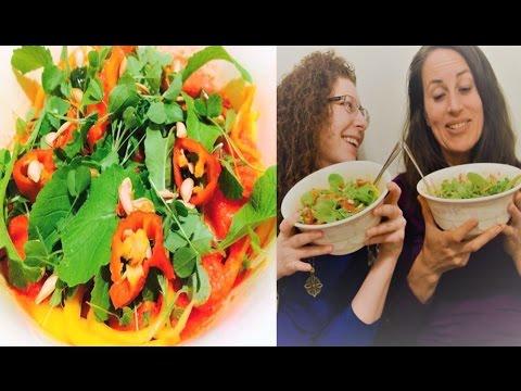 Intimate Lady Talk & Raw Vegan Fruitarian Mukbang (menstruation, pregnancy, breastfeeding)