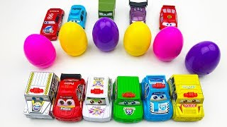 Learn Colors Eggs And A Lot Of Toys Video for Kids
