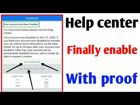 Your account has been disabled   how to recover disabled facebook account 2021