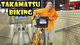 Renting a Bike in Takamatsu Japan