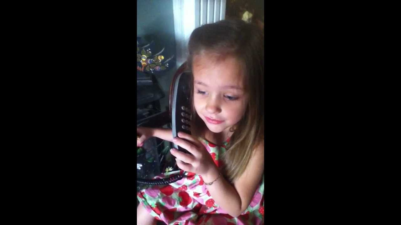 8yo tara Adventures with Autism: Lily Grace Phone Call from Santa Claus Christmas  2013. Autistic - YouTube