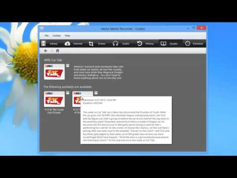 Jaksta Media Recorder for Windows - How to Download Your Favorite Podcasts Audomatically