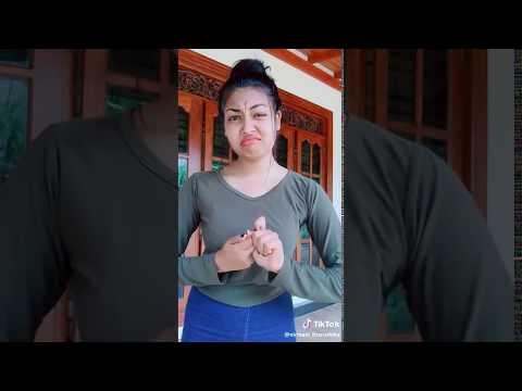 Tik tok sri lankan best of nishie dunusinha නිෂී දුනුසිංහගේ අලුත්ම එක thumbnail