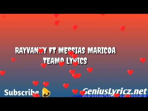 rayvanny-ft-maricoa-teamo-lyrics-valentine's-edition