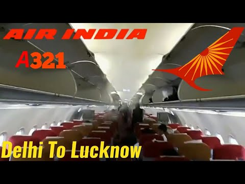 🛫[ FLIGHT REPORT]AIR INDIA A321/AI431/DELHI-LUCKNOW