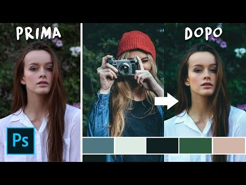 Come Rubare La COLOR Da Qualsiasi FOTO In Photoshop CC