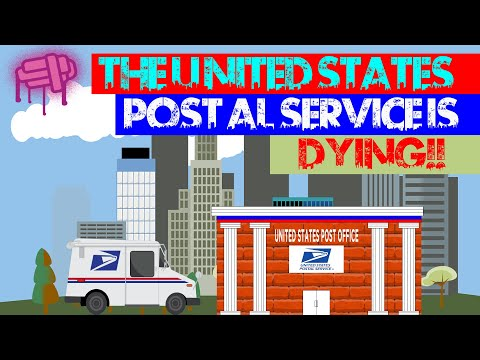 The United States Post Office Is Dying.