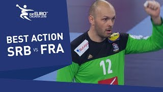 Gerard scores his first EHF EURO goal | Men's EHF EURO 2018