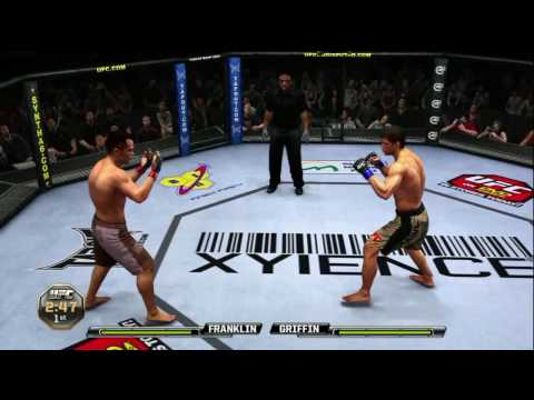 UFC 2010 Undisputed Rich Franklin vs Forrest Griffin (Gameplay/Commentary)