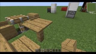 Como fazer móveis no minecraft