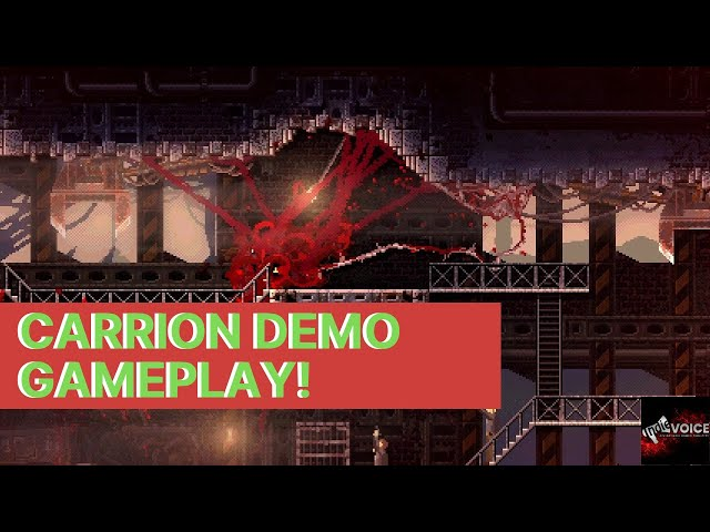 Carrion Demo Gameplay! Be the Monster!! - No Commentary