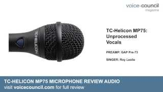 TC-Helicon MP-75