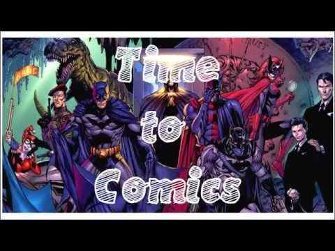 Интро ролик к передаче Time to Comics (Marvel, DC, Image)