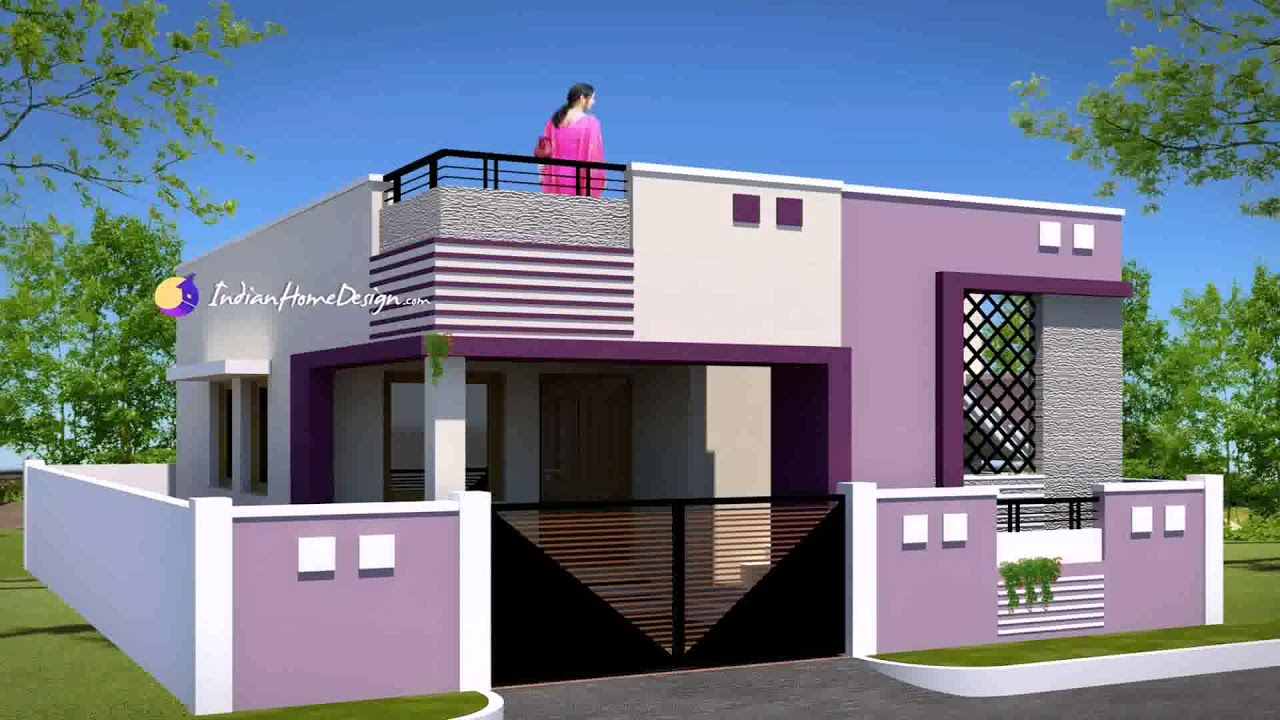 Small Home Exterior Design Photos India - YouTube