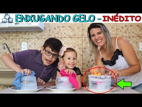 ENXUGANDO GELO - (DESAFIO INÉDITO)  ERLANIA VICTOR E VALENTINA