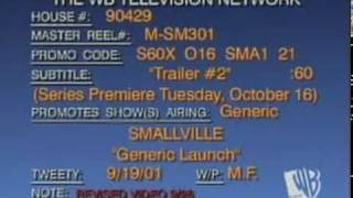 Smallville - Series Premiere Season 1 - WB Trailer 2001