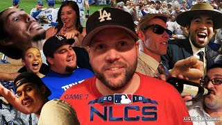 NLCS GAME 7 WITH THE SOFTBALL CREW! | Kleschka Vlogs