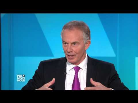 Tony Blair on why he's advocating for a global policy 'center ground'