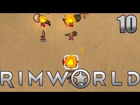 Gemetzel kurz vor der Sommerpause | Rimworld Beta 18 mit Dennis #10