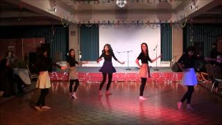 Desi Girls Dance Performance, Diwali Night
