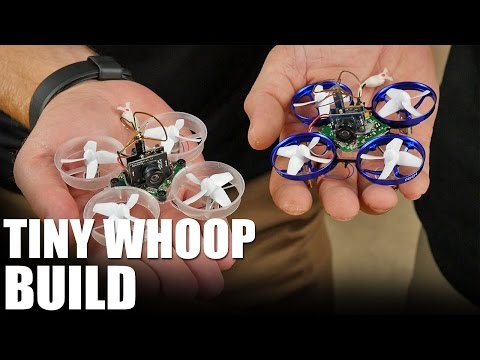 Tiny Whoop - Build | Flite Test