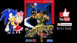 Landstalker: The Treasures of King Nole [RUS] (Genesis/Mega Drive) - Full Longplay