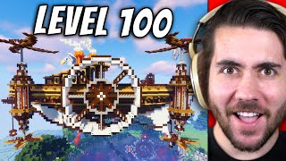 Level 1 To 100 Builds In Minecraft