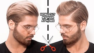 How I Cut My Hair At Home (by myself)