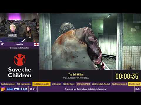 The Evil Within [Any% (Casual)] by StevieBlu_ - #ESAWinter20