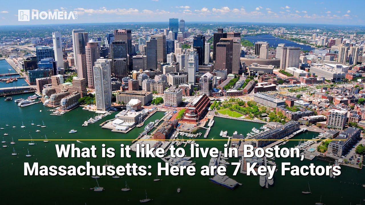 What is it like living in Boston, Massachusetts? - YouTube