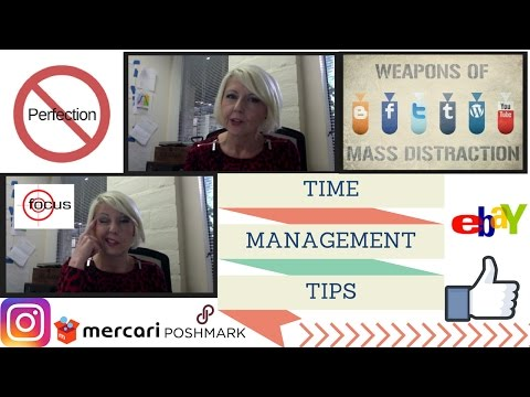 How to MANAGE TIME - Time Management Tips for Self Employed / Resellers