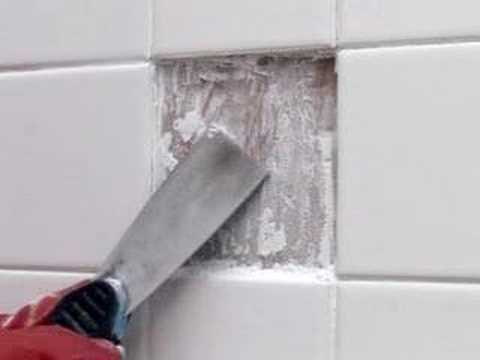 Collins DIY Survival Demos How To Fix A Broken Tile YouTube - How to fix bathroom tiles