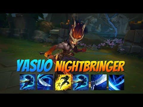 Yasuicide V - AD Yasuo Montage #8 - Yasuo NightBringer Comeback
