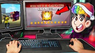 EN BUSCA DEL RANGO MAXIMO EN DUELO DE ESCUADRAS CLASIFICATORIA EN COMPUTADORA | TheDonato Free Fire
