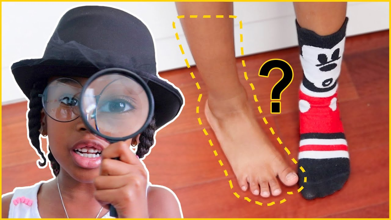 HELP! Someone Stole my sock!   The Great Detective Sekora To The Rescue