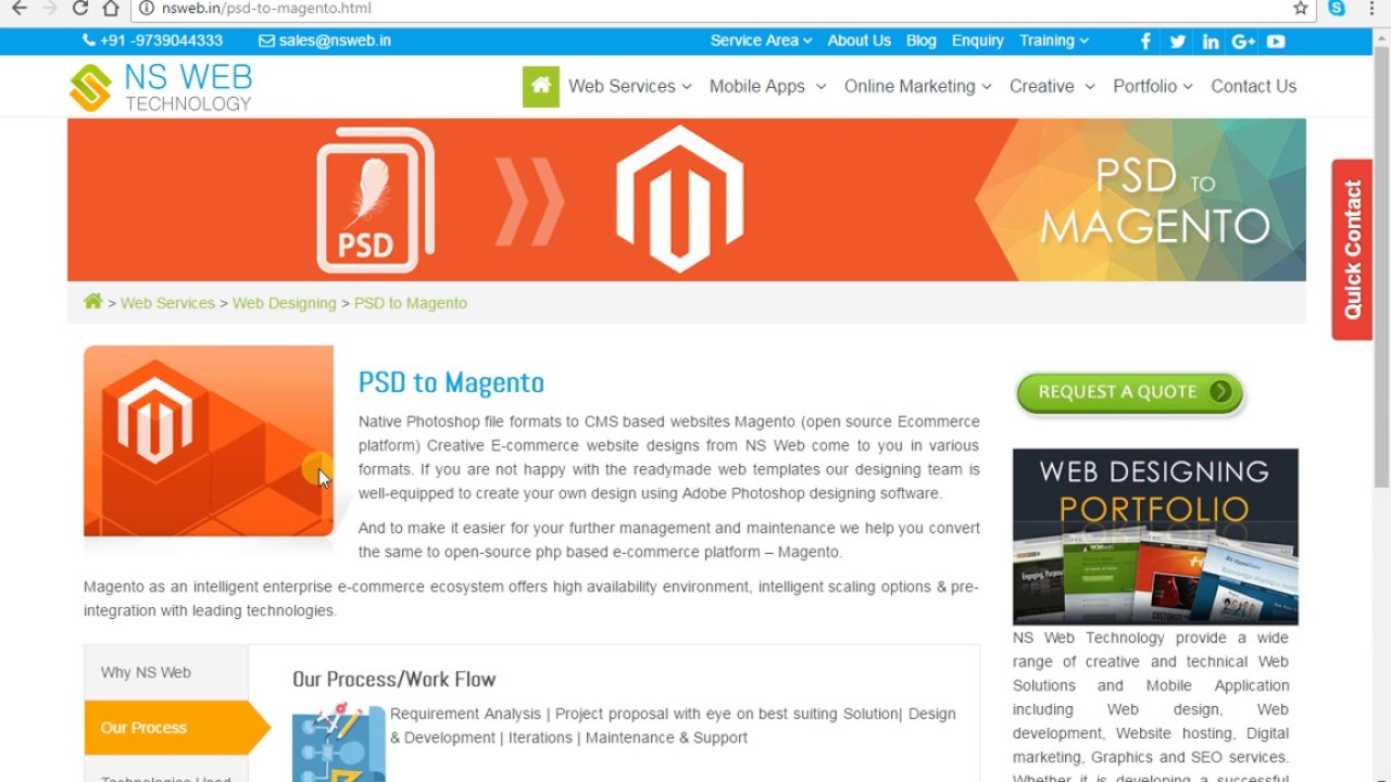 PSD to Magento, PSD to Magento Conversion Development Company in ...