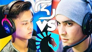 SK Gaming First Game Vs TACO & Liquid New Roster! STEW VS TACO