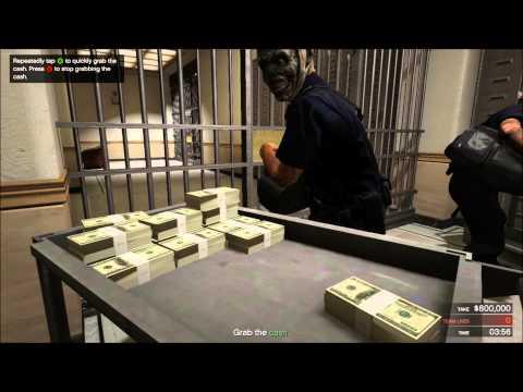 GTA 5- hur man gör ett bankrån like a boss