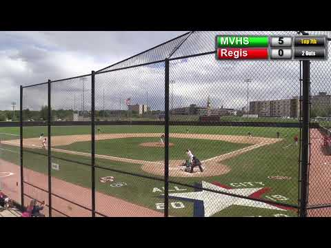 MVHS State Semi Final Baseball Vs. Regis Jesuit High School